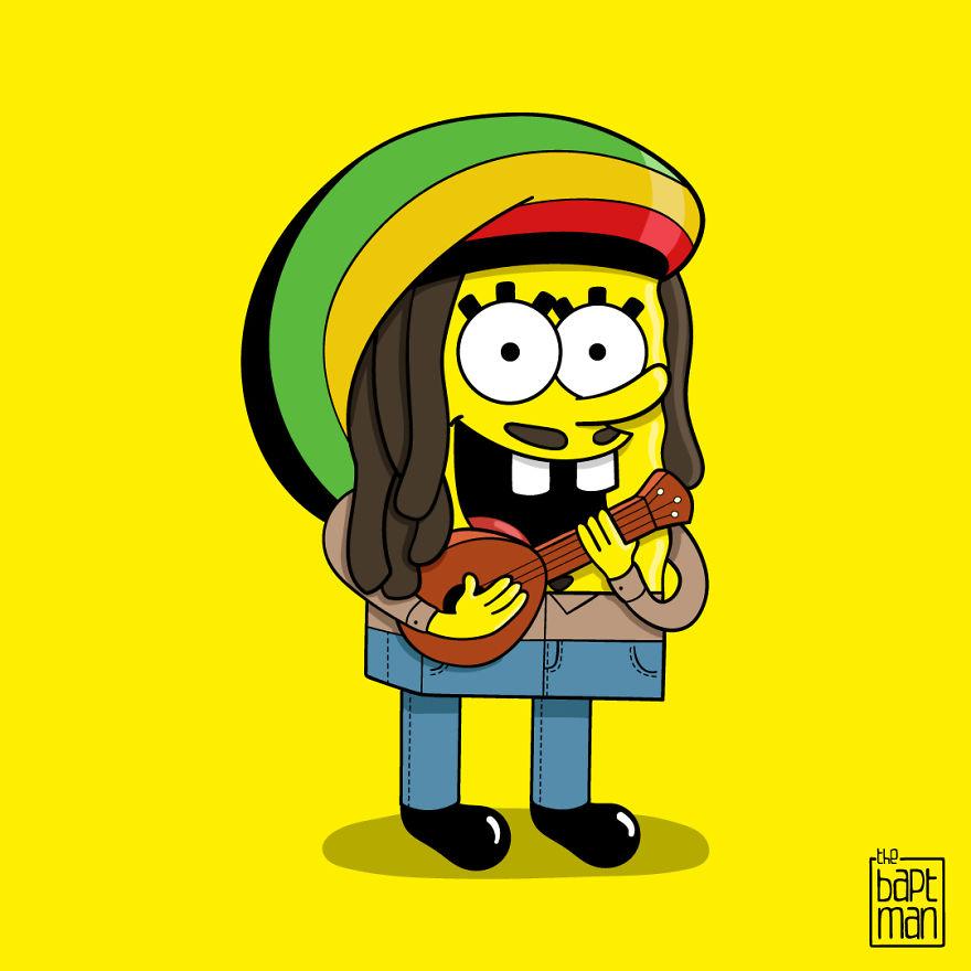 Spongebob Marley