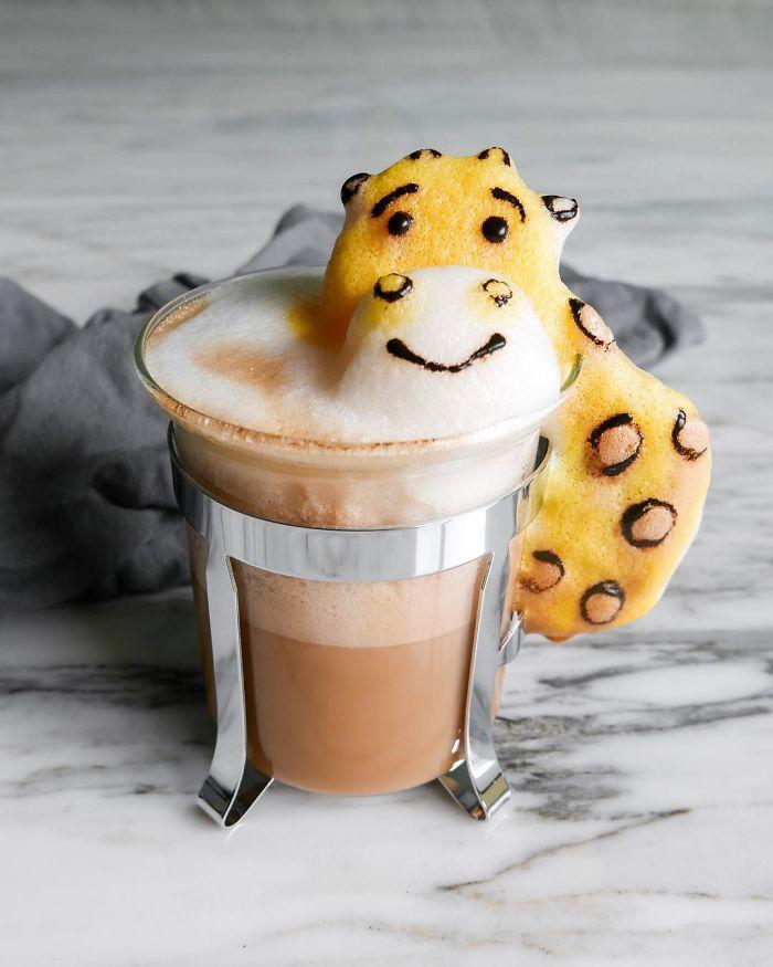 The Incredible 3d Art In Coffee Foam By Daphne Tan