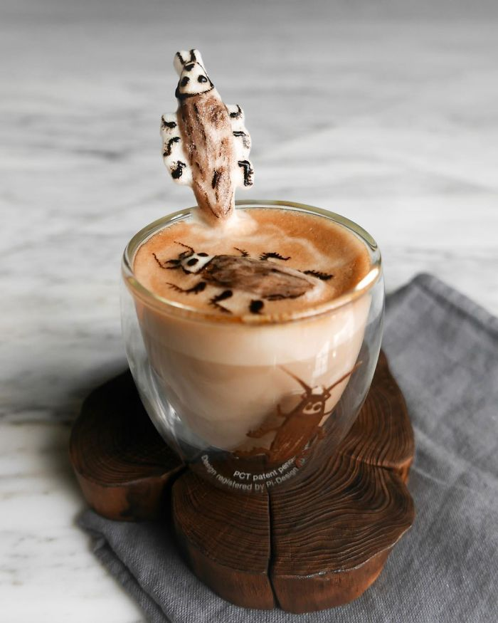 The Incredible 3d Art In Coffee Foam By Daphne Tan