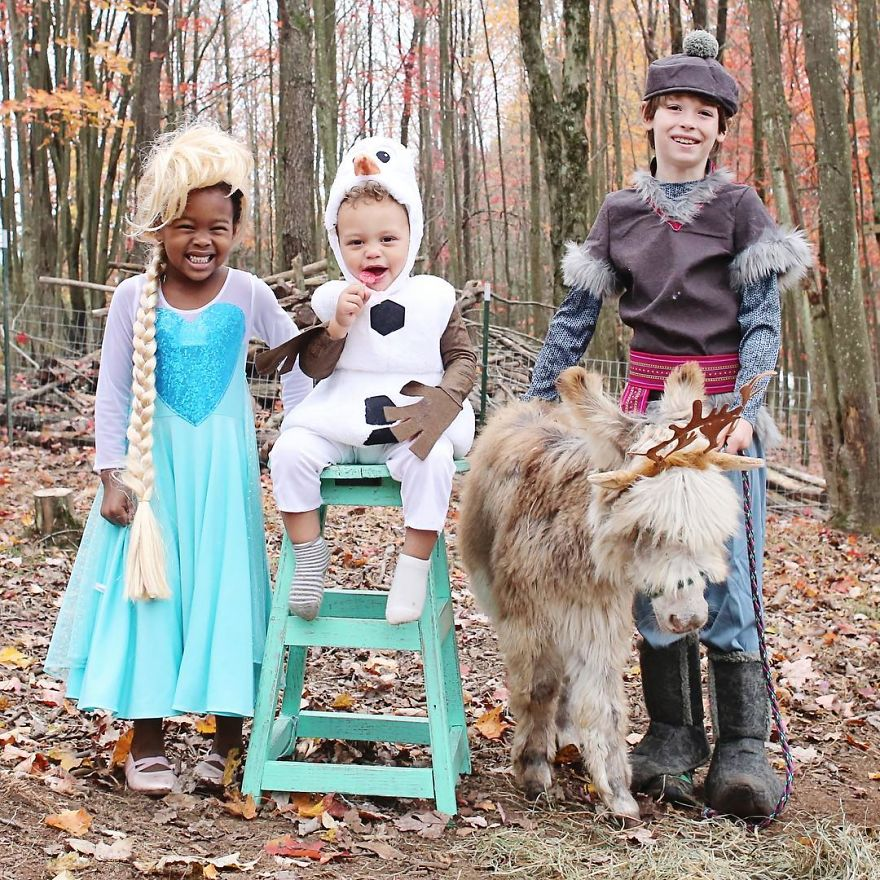 Halloween Costumes For 4 Friends.I Make Halloween Costumes For My Kids And Their Furry