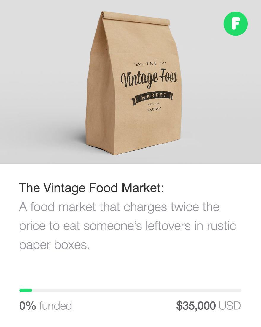 Vintage Food Market