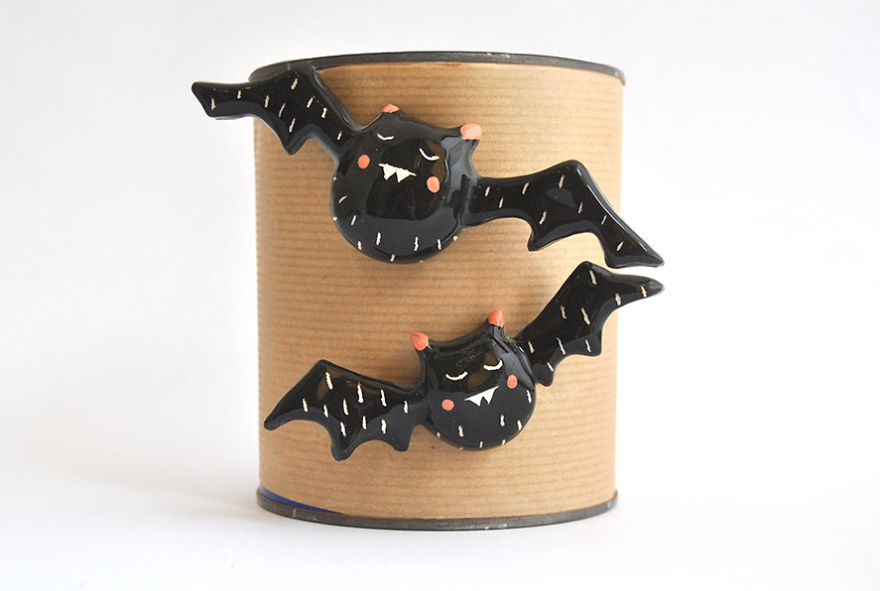 Black Vampire Magnets
