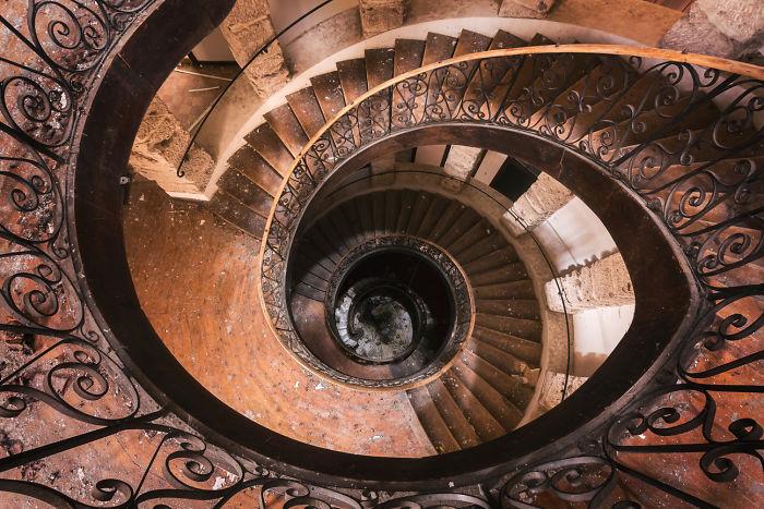Abandoned Staircase (Eye)