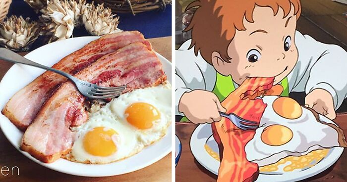 Japanese Woman Recreates Food From Miyazaki Films And Other Anime Bored Panda