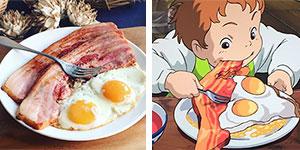 Esta japonesa recrea la comida de las películas de Miyazaki