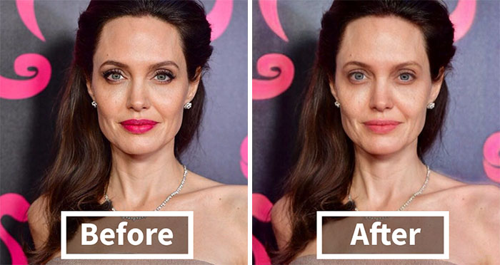 I Tried This AI-Based App That Removes Makeup On Celebs And Here's The Result