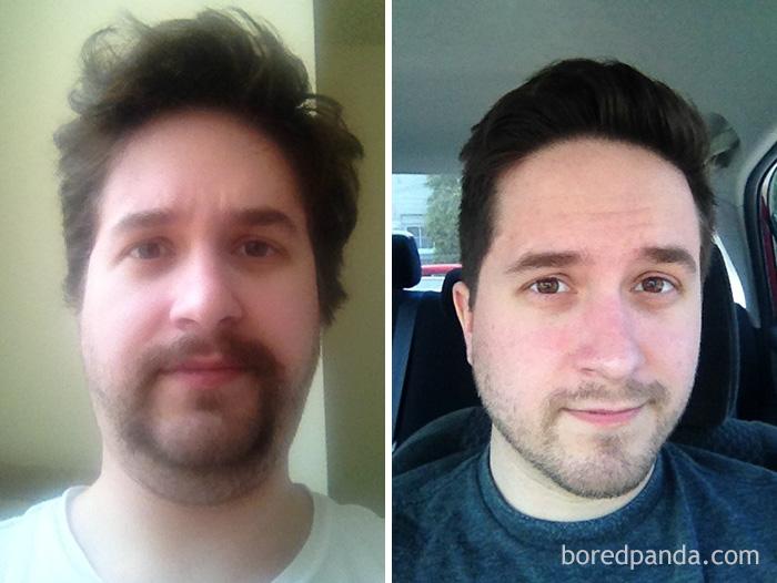 My Buddy Ryan Before And After Haircut Bored Panda