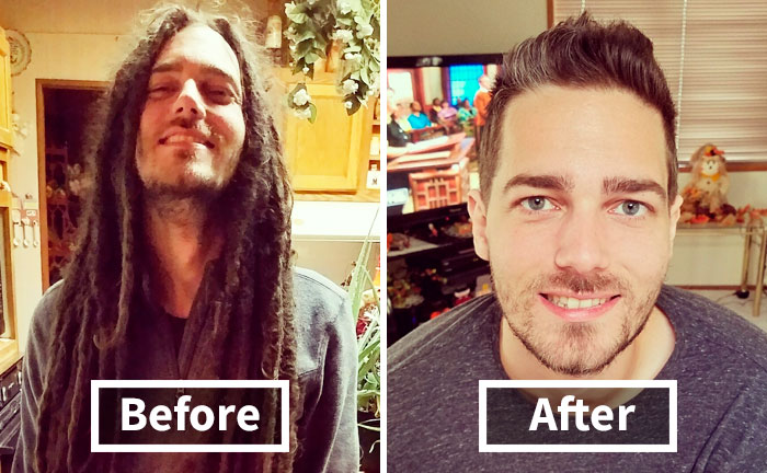 134 Incredible Photos Before And After A Haircut Prove A Good Barber Is Like A Plastic Surgeon