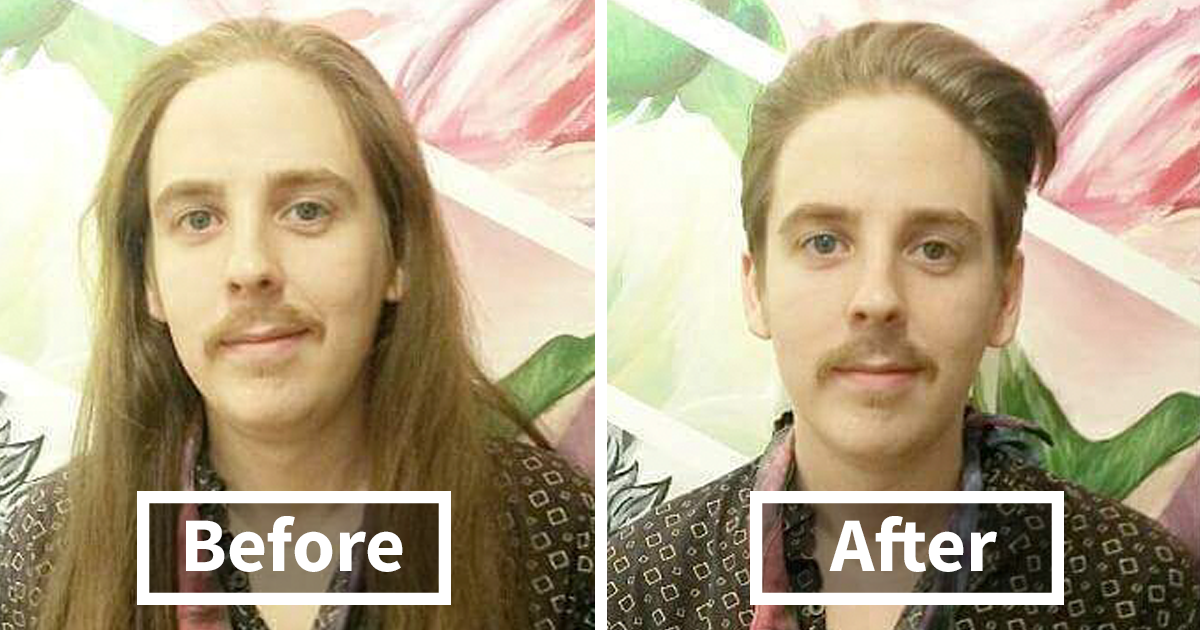 Incredible Before & After Photos That Prove A Good Barber Is Like A Plastic Surgeon