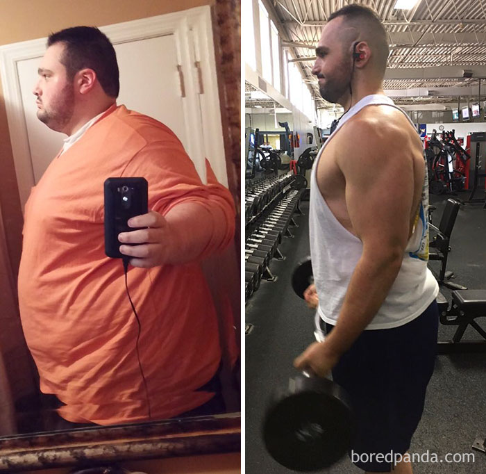 240 Lbs Lost In 3 Years. 100% Diet, 100% Exercise And 100% Hardwork