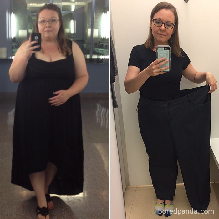 150 Lbs Lost – I'm Half Of Who I Used To Be! | Bored Panda