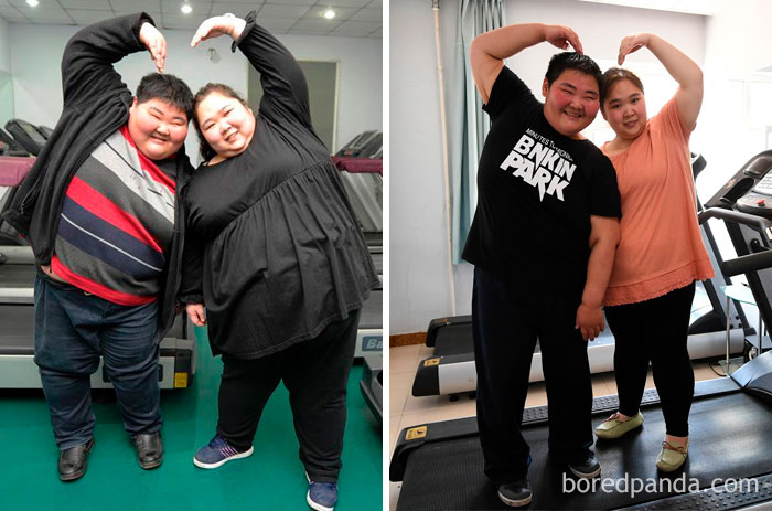 This Couple From China Shed Half Of Combined Weight So They Can Have A Healthy Baby