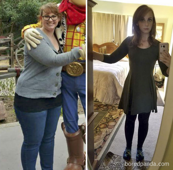 197 amazing before after weight loss pics that are hard to believe show the same person. Black Bedroom Furniture Sets. Home Design Ideas