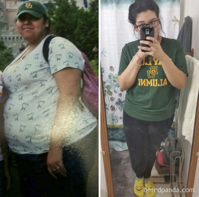 Lost 115 Lbs. Can Now Walk Up A Flight Of Stairs Without Completely Dying