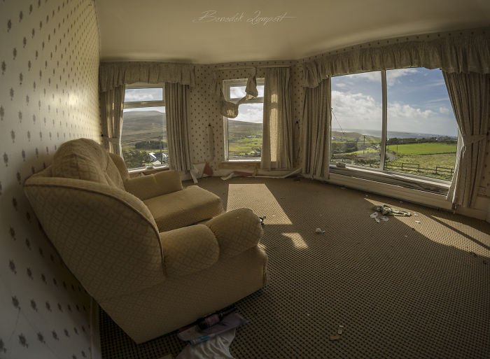 Nice Room…almost – An Abandoned Hotel Somewhere In Donegal.