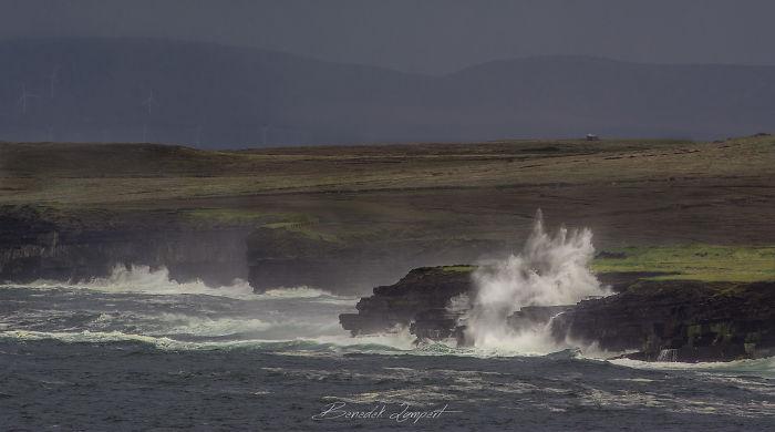 Angry Sea At Downpatrick Head