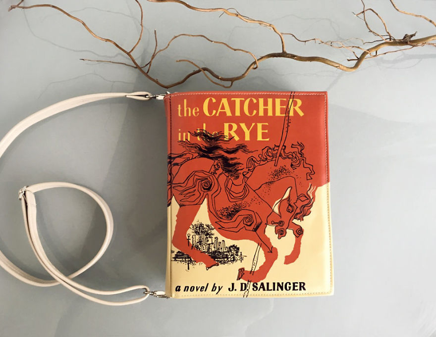 The Catcher In The Rye Book Purse