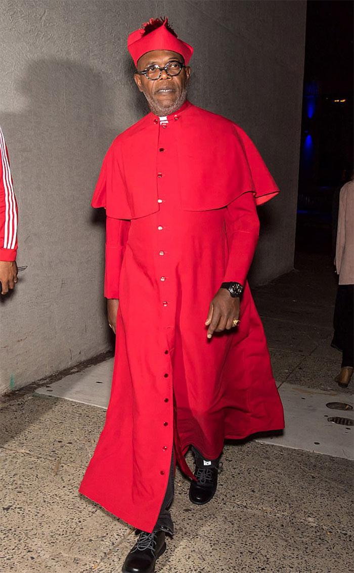 Samuel L. Jackson As A Cardinal