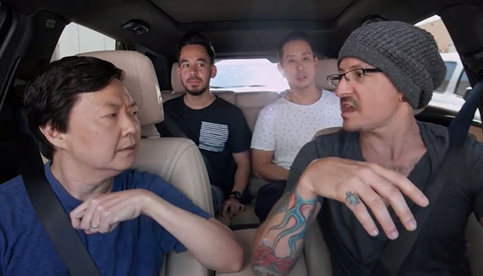 Chester Bennington's Carpool Karaoke Episode Has Been Released, And It Shows The Face Of Depression