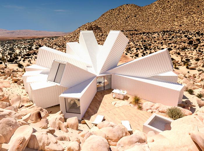 Este arquitecto diseñó una casa usando contenedores de carga, y es tan genial por dentro como por fuera