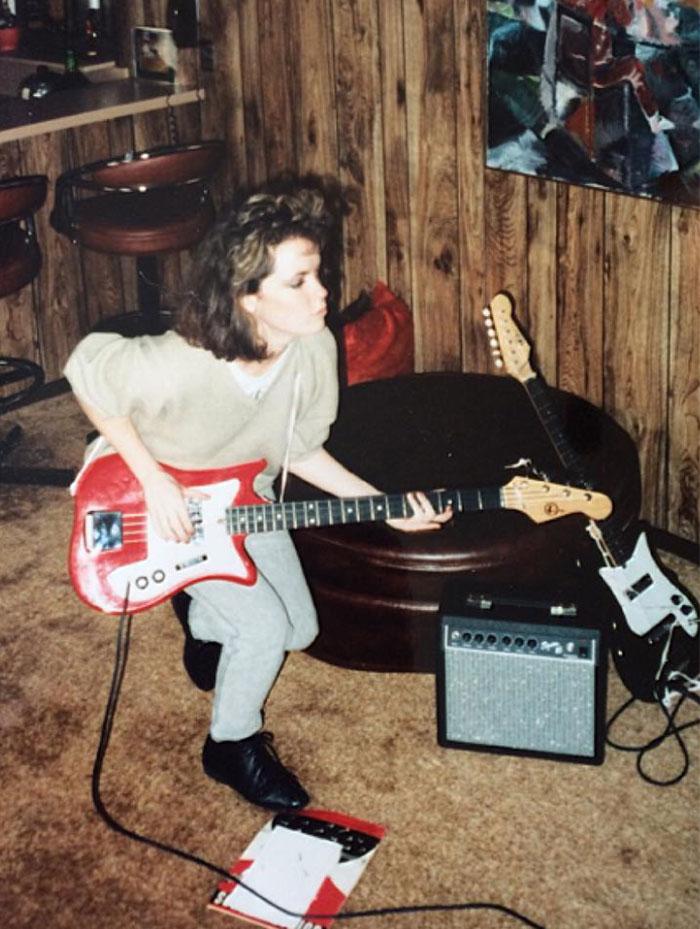 My Mom Circa 1986
