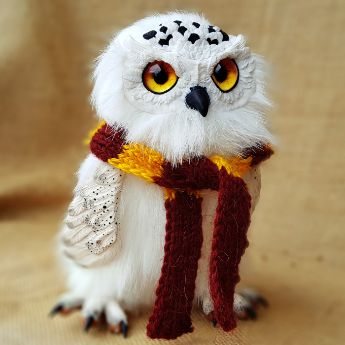 """We Create Hedwig From The Movie """"harry Potter"""""""