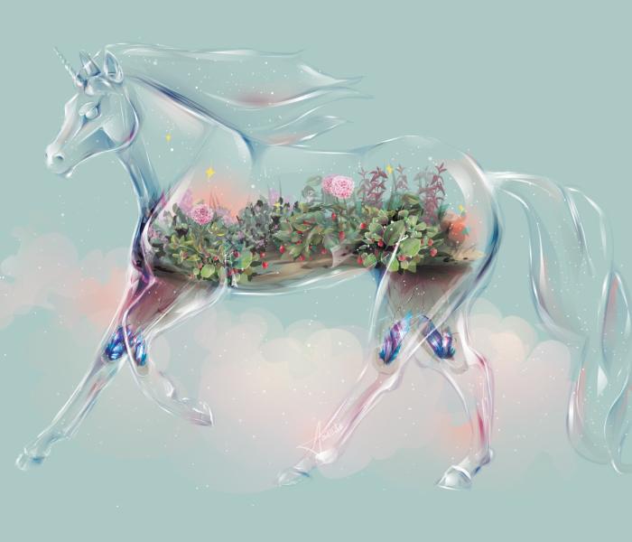 I Draw Animals As Beautiful Glass Terrariums