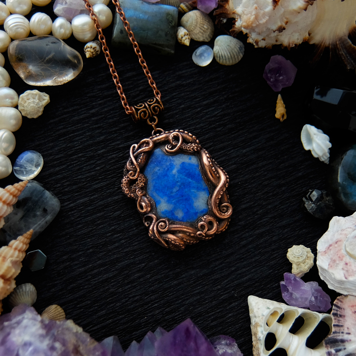 I Make Nature-Inspired Copper Electroformed Jewerly