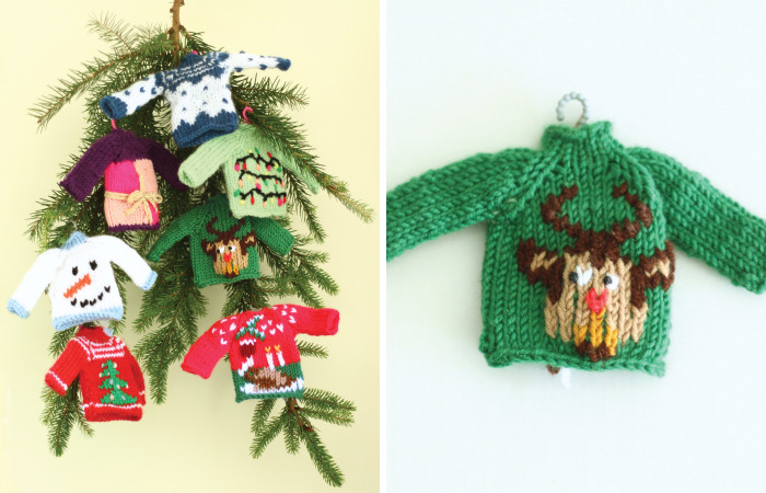 Christmas Is Coming And This Year I Will Be Making Tiny Ugly Sweaters As Christmas Tree Decoration