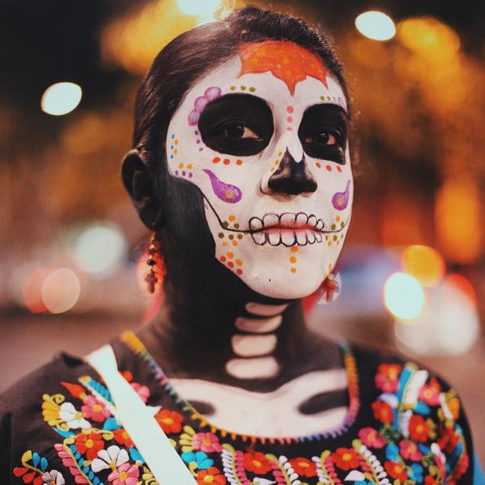 Another Day Of The Dead In Mexico City