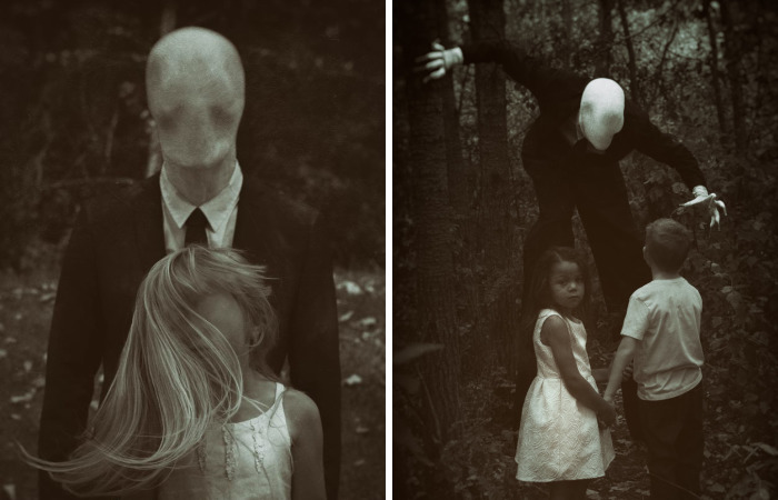 I Took Children Into A Forest To Meet Slenderman
