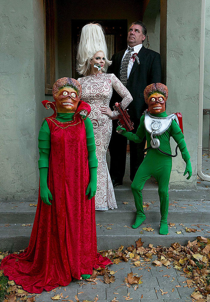Finally Finished This Year's Family Costume. Ack Ack Ack!