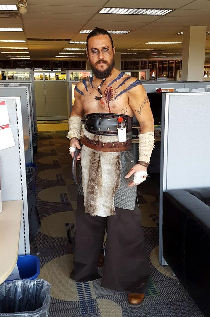 Disfraz de Khal Drogo