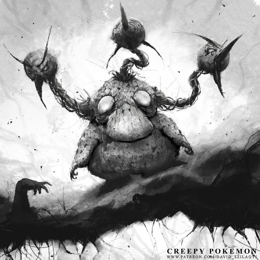 Creepy Pokemon