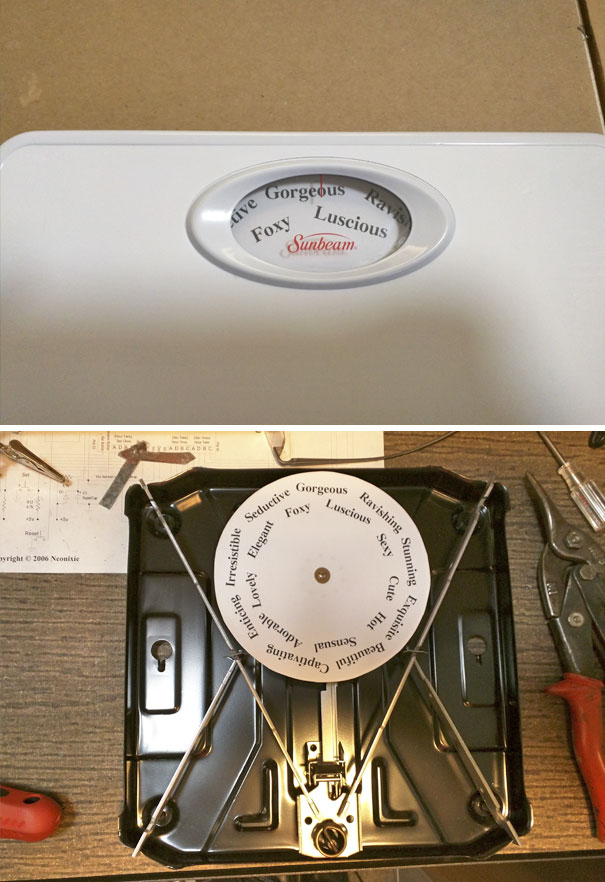 I Replaced My Wife's Bathroom Scale