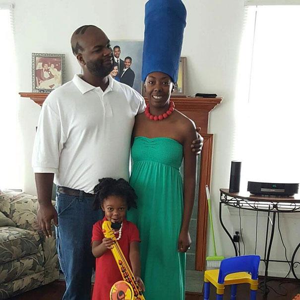 Family Cosplay Win