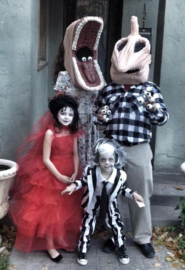 My Family's Past Three Halloweens
