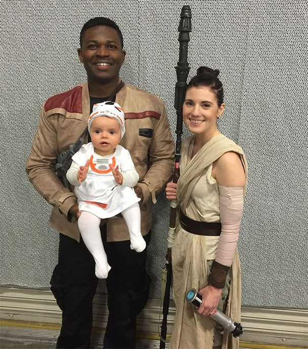 This Family Cosplays Together, And The Force Is Really Strong With Them