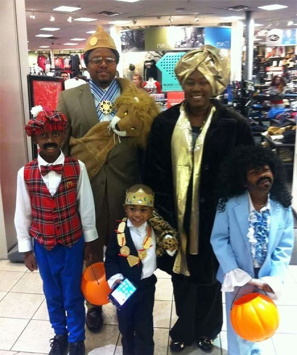 Coming To America Family Cosplay