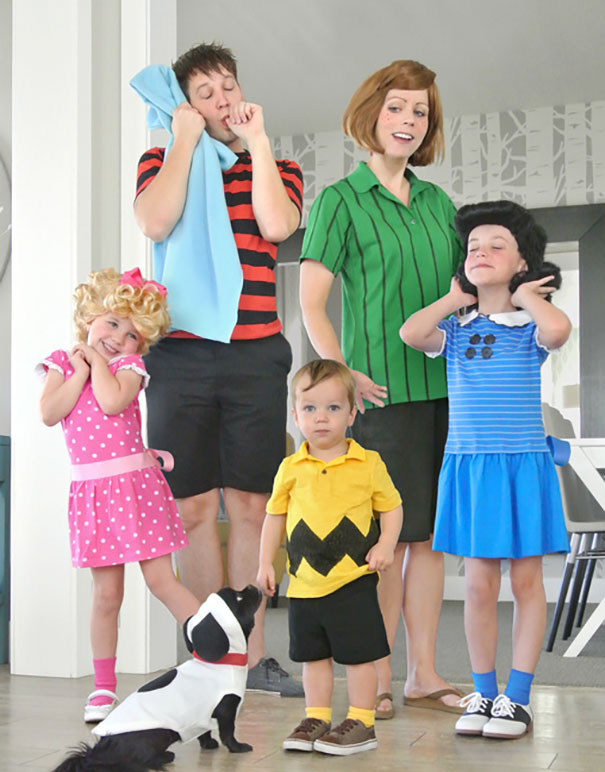 148 Times Families Absolutely Nailed Their Halloween Costumes Bored Panda