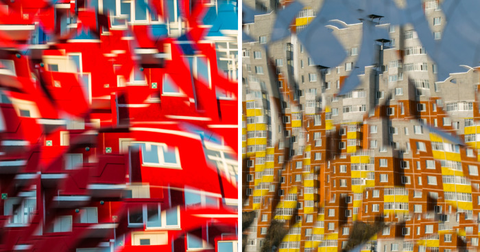 Archevolution: I Used A Cut Mirror To Shoot Architecture