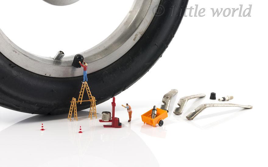 Repairing The Wheel