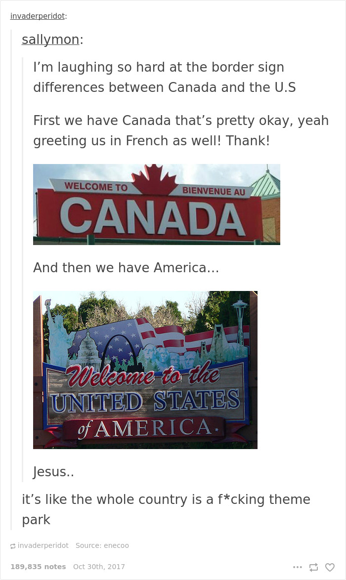 25 Times Canada Roasted America So Well You Can T Even Be Mad