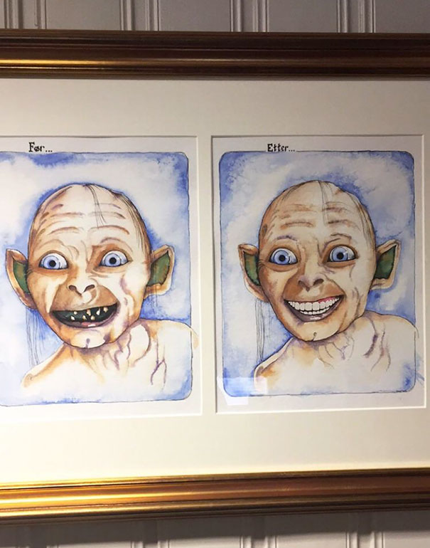 This Was In My Dentist's Waiting Room