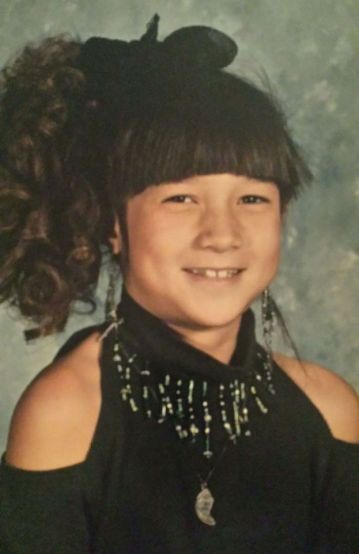 10-Year-Old (I Think) Wore Mom's Shirt For Picture Day, Was Asked If I Could Afford Shoulders On Shirt