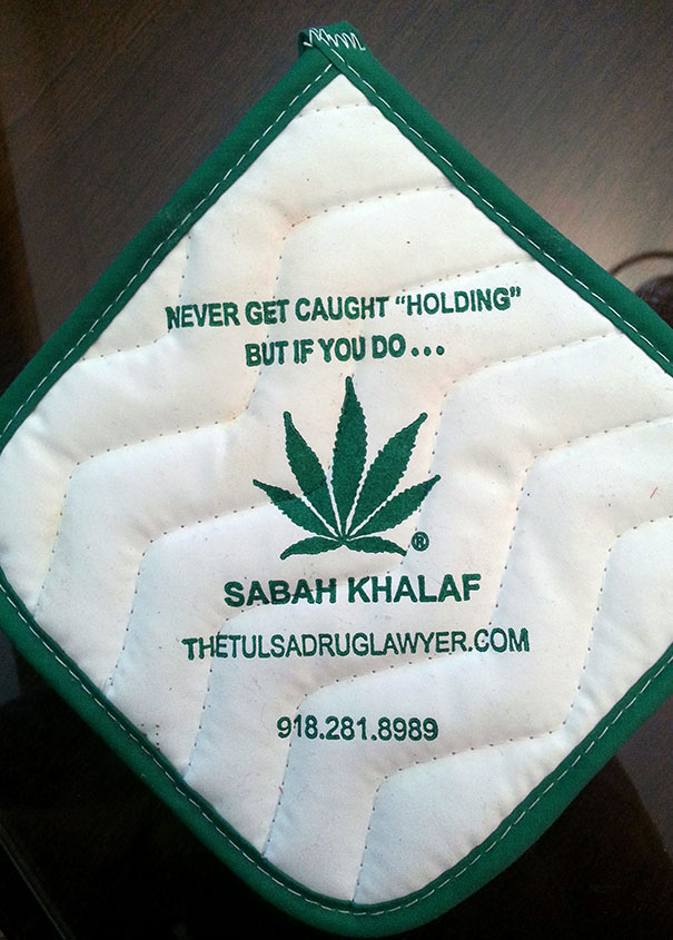 Mother-In-Law Asked Me To Take Turkey Out Of Oven. Asked For Pot Holders And This Is What She Gave Me