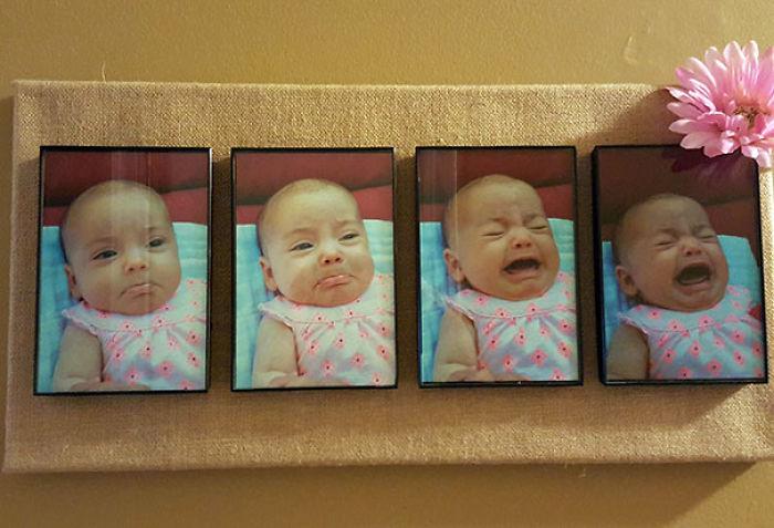 Mi madre le regaló esto a mi esposa: la evolución del cabreo de nuestra hija