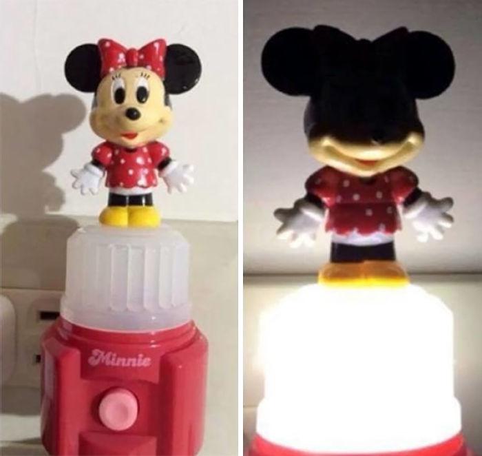 Le compré esta lampara a mi hija, pero fue un error