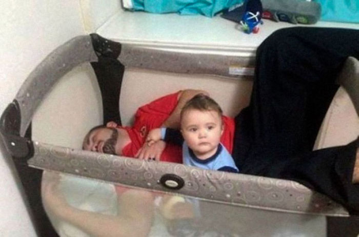 Parenting Is Tough. Especially For This Dad