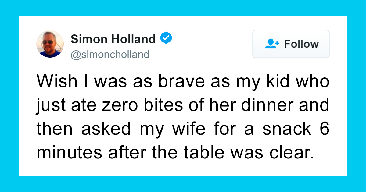 57+ Times Parents Hilariously Summed Up What It's Like Feeding Their Kids